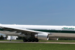 Alitalia inaugural flight from Rome lands at Dulles International Airport