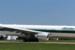 Alitalia inaugural flight from Rome lands at Dulles International Airport